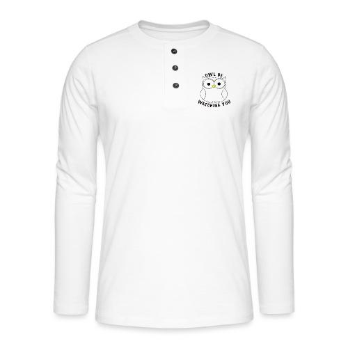 OWL BE WATCHING YOU - Henley long-sleeved shirt