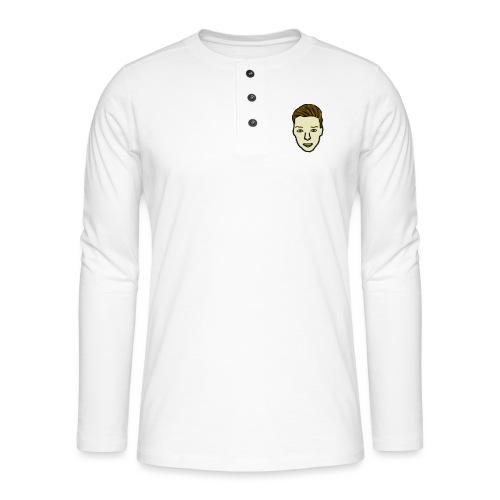 Luukjeh - Henley shirt met lange mouwen