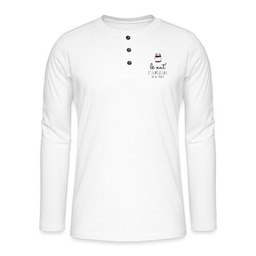 Le Nut' - T-shirt manches longues Henley