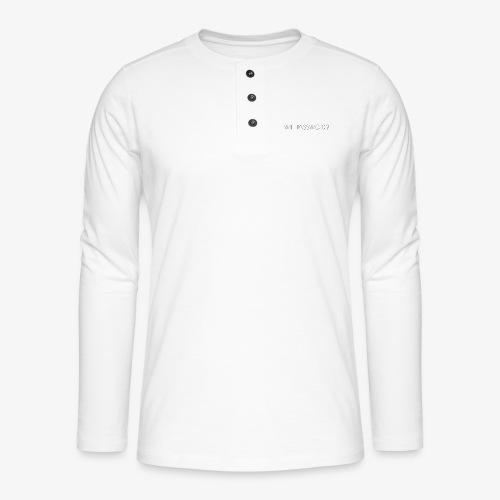 WIFI PASSWORD? - Henley long-sleeved shirt