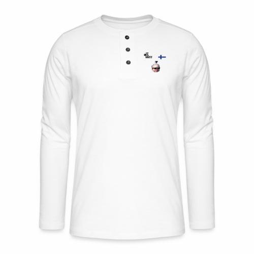 Dealwhitit NP Merch - Henley pitkähihainen paita