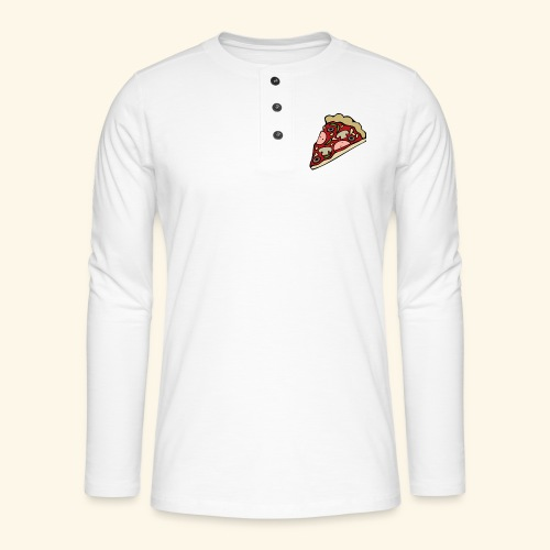 Pizza - T-shirt manches longues Henley