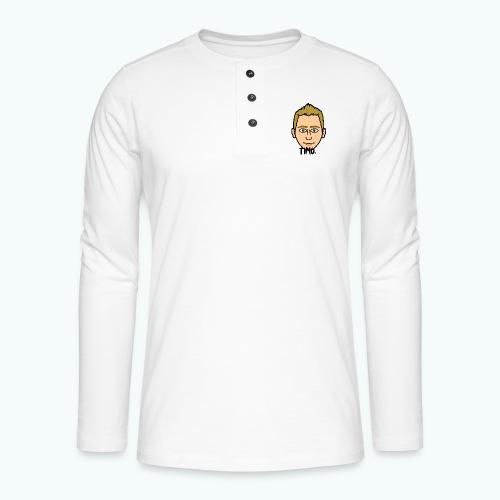 Logo TIMO. - Henley shirt met lange mouwen