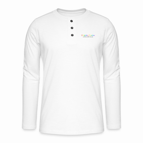 Schtephinie Evardson: Special Edition Gay Pride - Henley long-sleeved shirt