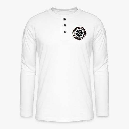 Tribal 1 - Henley long-sleeved shirt