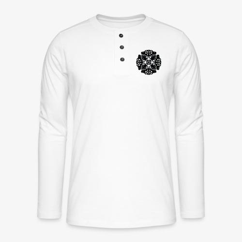 Tribal 4 - Henley long-sleeved shirt