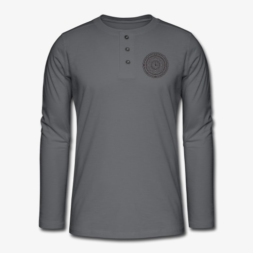 Tribal 5 - Henley long-sleeved shirt