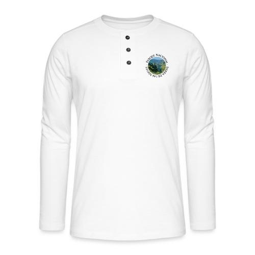 Parque Nacional Sierra de las Nieves - Camiseta panadera de manga larga Henley
