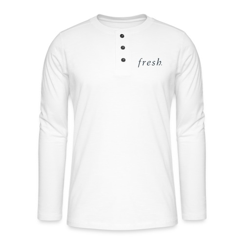Fresh - Henley long-sleeved shirt