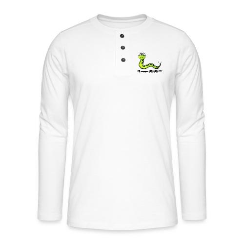 U zegge SSSS !!! - Henley shirt met lange mouwen