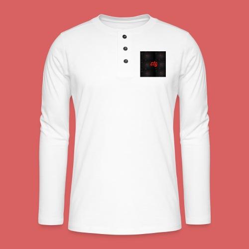 ctg - Henley long-sleeved shirt