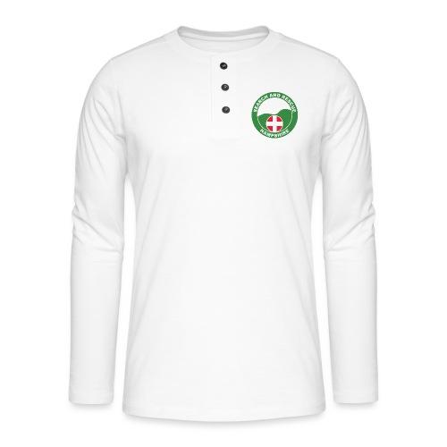 HANTSAR roundel - Henley long-sleeved shirt