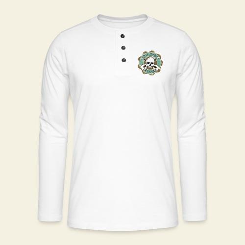 Rockabilly Still Rockin - Henley T-shirt med lange ærmer