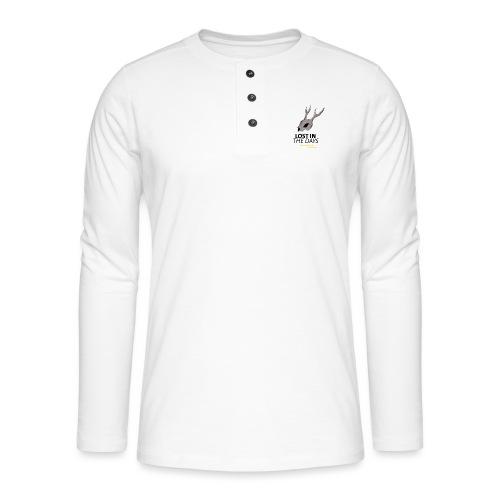 crane sky visu t shirt2 png - T-shirt manches longues Henley