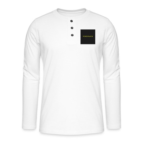 Power player - Maglia a manica lunga Henley