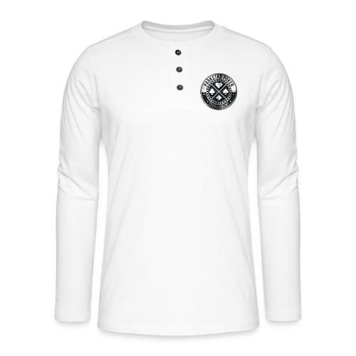 PPT rond - Henley shirt met lange mouwen