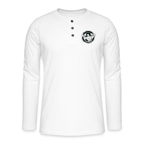 Fitness supplements - Henley T-shirt med lange ærmer