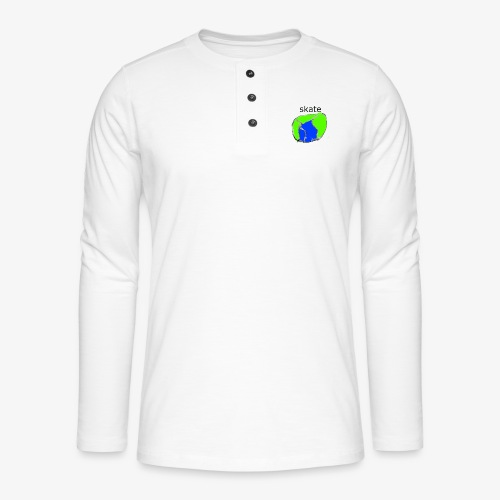 aiga cashier - Henley T-shirt med lange ærmer