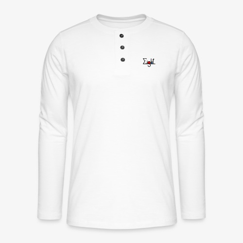 EIGHT LOGO - T-shirt manches longues Henley