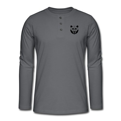 ours - T-shirt manches longues Henley