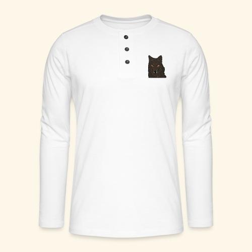 HikingMantis - Henley T-shirt med lange ærmer
