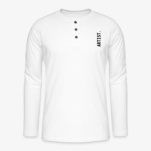 ARTIST. - T-shirt manches longues Henley