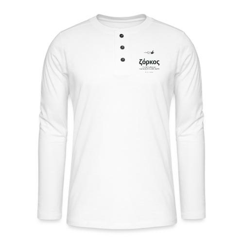 Ζόρκος - Henley long-sleeved shirt