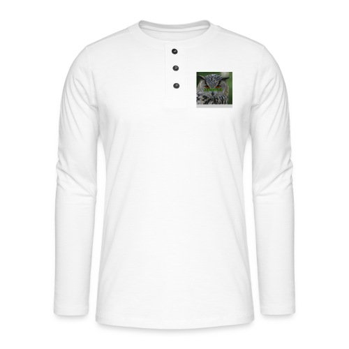 JohannesB lue - Henley langermet T-skjorte