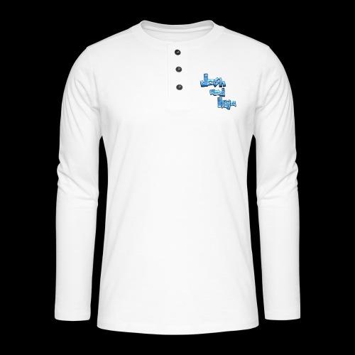 Josh and Ilija - Henley long-sleeved shirt