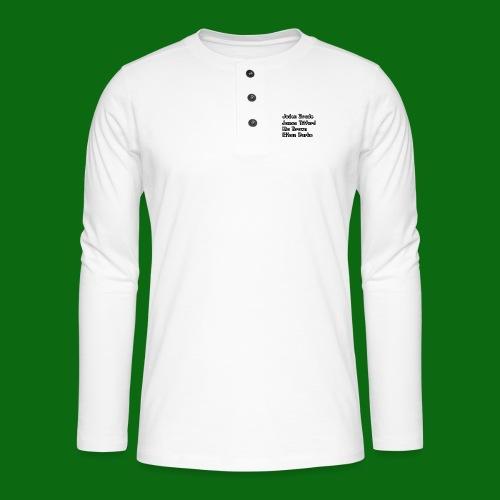 Glog names - Henley long-sleeved shirt