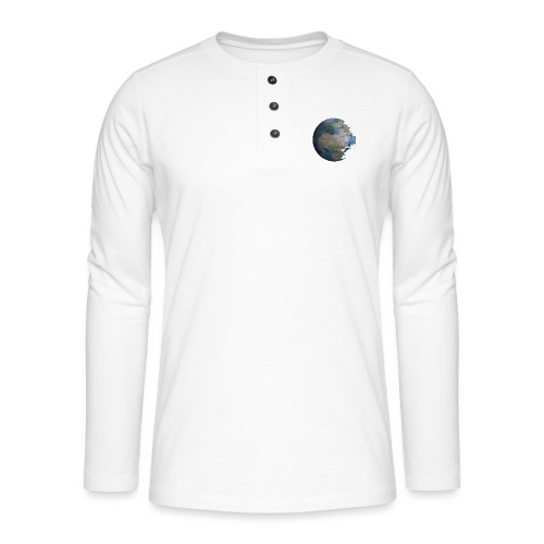 Death Earth - T-shirt manches longues Henley