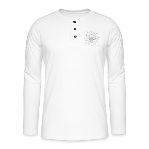 Mandala - Henley pitkähihainen paita