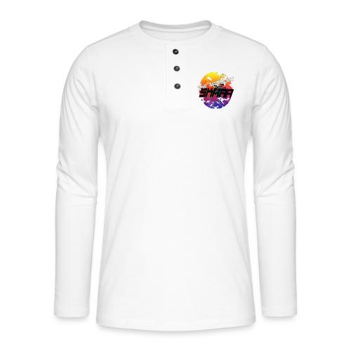 The ting goes SKRAA - Henley shirt met lange mouwen