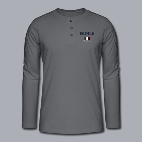 hunle French Collection n°1 - T-shirt manches longues Henley