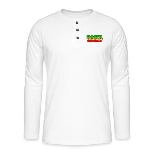 RASTA WARS KOUALIS - T-shirt manches longues Henley