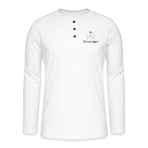 Crypto Bro - T-shirt manches longues Henley