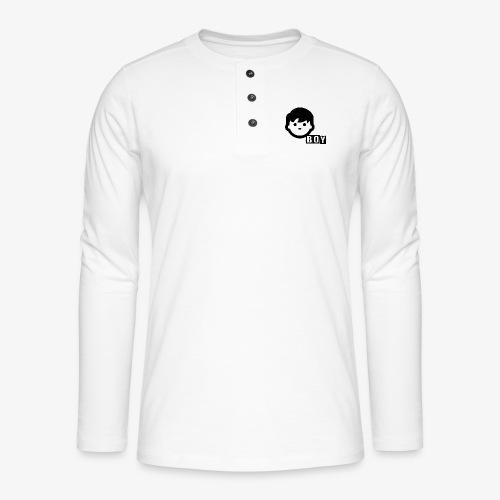 boy - T-shirt manches longues Henley