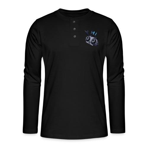 The DTS51 emote1 - Henley shirt met lange mouwen