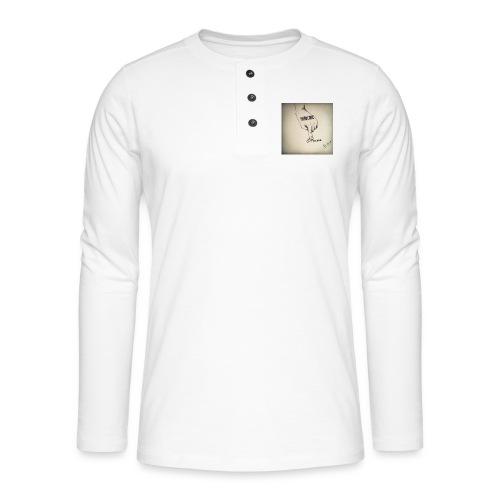 DerHardstyle.ch Hard_Core Techno - Henley Langarmshirt