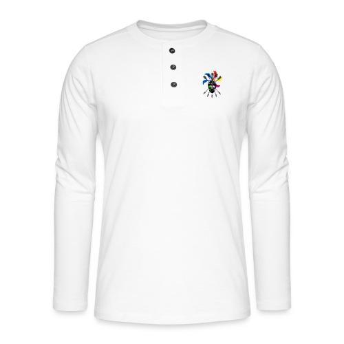 Blaky corporation - Camiseta panadera de manga larga Henley