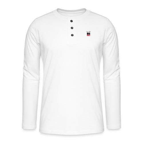 I am the big boss - T-shirt manches longues Henley