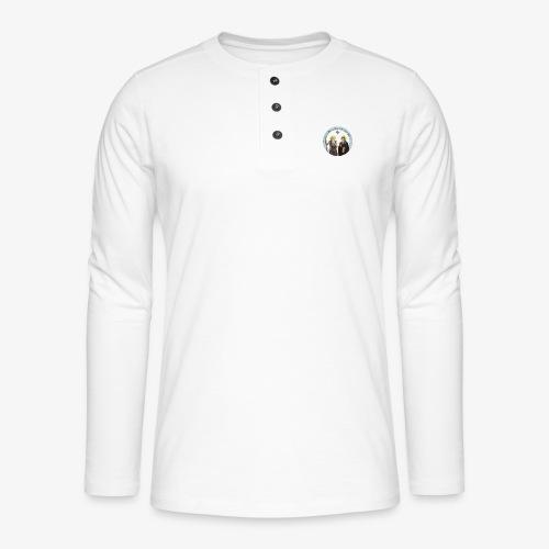logo de l'eglise - T-shirt manches longues Henley