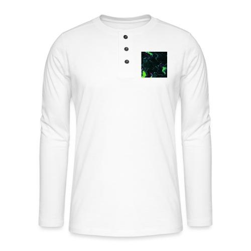 CYBERSPACE - Henley long-sleeved shirt