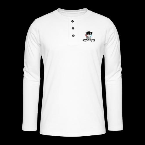 Padawan Noir - T-shirt manches longues Henley