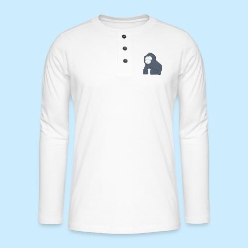Baby Gorilla - Henley long-sleeved shirt