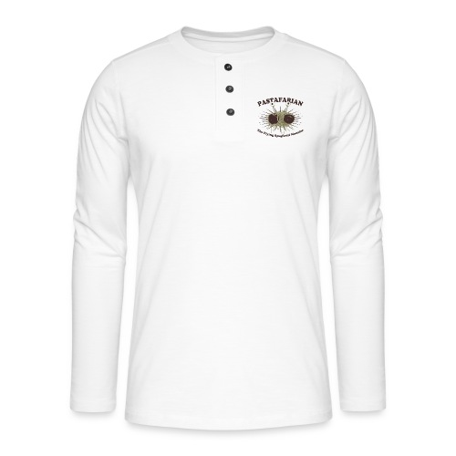 The Flying Spaghetti Monster - Henley long-sleeved shirt