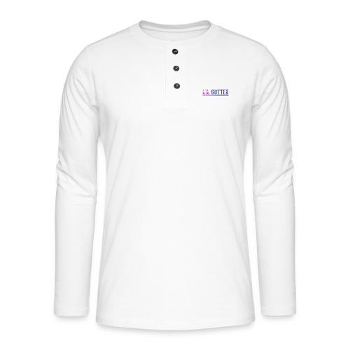 Lil gutt - Henley T-shirt med lange ærmer