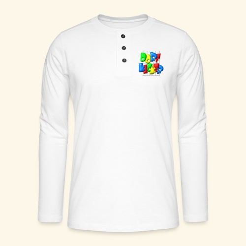 Dorfkicker im Fußballfeld - Balloon-Style - Henley Langarmshirt