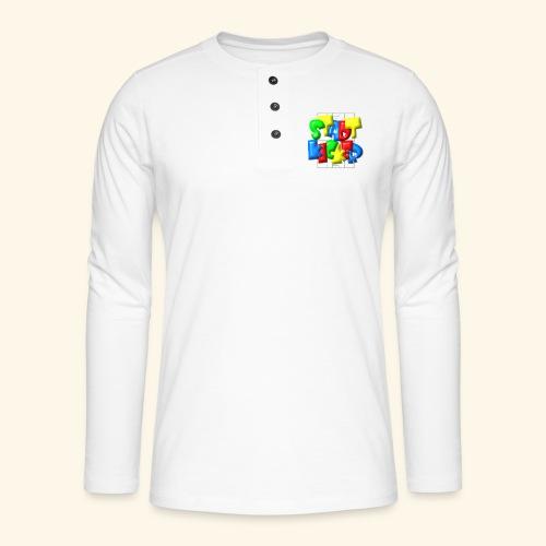 Stadtkicker im Fußballfeld - Balloon-Style - Henley Langarmshirt