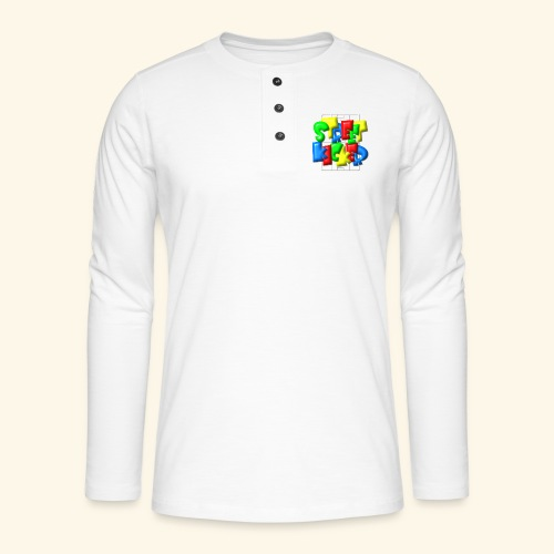 Streek Kicker im Fußballfeld - Balloon-Style - Henley Langarmshirt